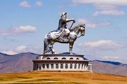 チンギスハーン巨大像の総合施設
