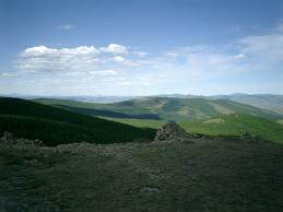 中部ハンガイ山脈