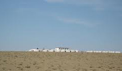 Tourist camp in Gobi Desert