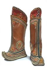 モンゴル伝統靴