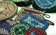 カザフ族の民芸品