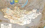モンゴル地図