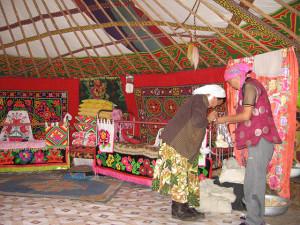 カザフ族のゲル