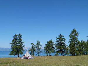 Khuvsgul lake.