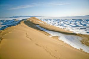 南ゴビ砂漠.