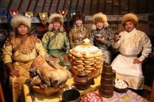 モンゴルのお正月
